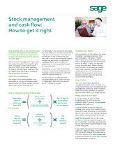 Stock Management & Cash Flow